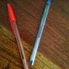 ウガンダでよく使われているペンとその使い方