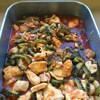 鶏肉とゴーヤのトマト味噌煮