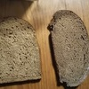 黒パン、ライムギパン100%と50%