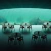 ノルウェーに北海が臨める水中レストラン
