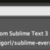 Sublime Text3でMarkdown形式で書いたメモをEvernoteに保存してみた