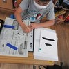 3年生:書写「二」