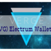 Verge(XVG) Electrum Wallet作成手順