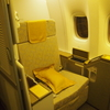 【搭乗記】アシアナ航空 ビジネスクラスだけどファーストシート!香港-仁川 OZ0746