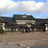 正月旅行 厳冬の山陰旅 旧大社駅に訪問