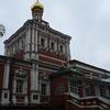 ノヴォデヴィチ修道院 鉄のカーテンの向こう側の天気と改装中の世界遺産 2018欧州旅行その43