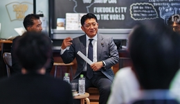 渋谷よりも福岡が優先!? 地方初、平井特命大臣とスタートアップの意見交換会