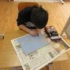 やまびこ:図工 版画に挑戦