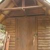 木製ドアや金物に拘った物置小屋づくり!!