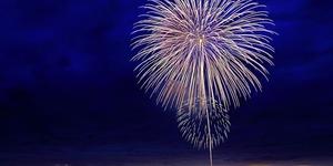 7月4日独立記念日の過ごし方②:軍基地で花火を観てきた