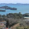 西行戻しの松公園から松島と仙石線を望む(リベンジの巻)