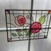 【100均】ダイソーの窓に張れるステンドグラスシールがかわいかったです