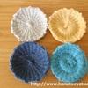 【セリアの編み機】コースター敷物メーカーの編み方を解説します