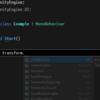 【Visual Studio】Ctrl キーを押している間は IntelliSense を半透明にできる