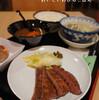 ●新都心コクーン2「仙臺たんや利久」の牛タン&カレー定食