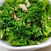 【ガン予防】包丁も火も使わない。うま味が効いたわさび菜とツナの昆布茶サラダ