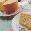 天然酵母のシフォンケーキ