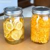 マイヤーレモンのはちみつ漬けを作りました