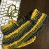 ノールビンドニング という編み方にハマってしまう。今は、とじ針で十分。