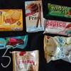 コンビニのアイスやチョコの新商品レビュー!【お菓子祭り!】パピコの桃、ガリガリ君メロンソーダ、ミルクキャラメルクッキーなど。