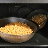 ヘルシオde蒸しひよこ豆の自炊レシピ