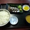 西川口の「あおき食堂」でさんま刺身定食を食べました☆