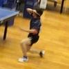 リーグ2戦目・二番 2019年 全日本実業団 卓球 和歌山
