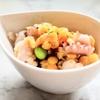 爽やか~な味『レンズ豆とタコのハーブサラダ』レシピ【レンズ豆で食物繊維UP➁】