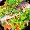 鰯ソテーと根菜のピリリと大人な三升漬炊き込みご飯