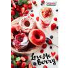 クリスピークリームドーナツ、ベリーたっぷりの「Love Me Berry」が発売。色も味も楽しめる!