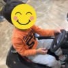 3歳の子供を散髪に連れて行った~車を運転して上機嫌~