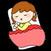 1歳3ヶ月の四女。朝寝が無くなってきて,これまた母のリズムを崩してくれる・・・