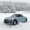 雪道を、あえてのDAIHATSU COPEN Robeで移動してヒドい目に遭う。