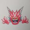 デスタムーア(ポケモン風) Deathtamoor , Pokemon style.