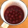 サワーチェリーの赤ワイン煮