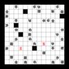 コラボ迷路:問題8-『詰将棋迷路』×『滑る迷路』