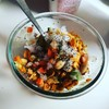 インド風コロコロマサラ野菜ひよこ豆サラダ