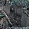 山の上に残る戦争遺跡-電波標定機基礎- 福岡県北九州市若松区大字小石