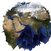X3DのGeoElevationGridで山が浮き出る地球儀を描いてみる