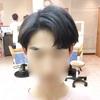 コンマヘアー(쉼표머리)韓国人男性に人気の髪型ダンディカットをスタイリング