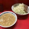【ラーメン】ラーメン二郎 上野毛店 小豚つけ麺あつもり ニンニク少なめアブラカタマリ
