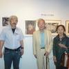 日芸図書館主催「畑中純の世界」展示会に訪れた人々