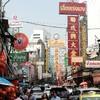 タイのバンコク、チャイナタウンで散歩