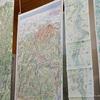 1年がかりで描かれる巨大絵地図:村松昭氏による山と川の散策絵図をアトリエ77で見てきた