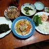 幸運な病のレシピ( 2358 )昼:豚汁、里芋牛肉しぐれ、刺し身ー>手巻き寿司