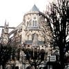 ブールジュのサン・テティエンヌ大聖堂の後陣(フランス))