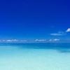モルディブの  海と 空と 雲