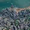 グーグルアース「香港」観光スポット