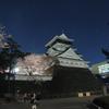 2012/04/07 小倉城の夜桜をcoolpixP510で撮ってみた