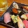 お寿司、たけのこの天ぷらなど
